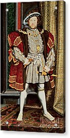 Henry Viii Acrylic Print by Hans Holbein the Younger
