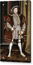 Henry Viii Of England Acrylic Print by War Is Hell Store