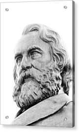 Henry Wadsworth Longfellow Acrylic Print by Victory  Designs