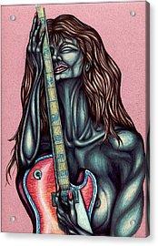 Her Great Loss Acrylic Print by Karen Musick