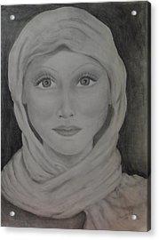 Her Acrylic Print by Jennifer Hernandez