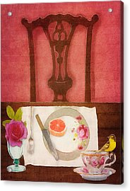 Her Place At The Table Acrylic Print
