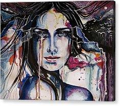 Her Sacrifice Acrylic Print