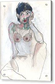 Her - Self Portrait Acrylic Print
