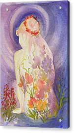 Herbal Goddess  Acrylic Print