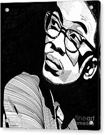 Herbie Hancock Acrylic Print