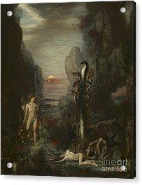 Hercules And The Lernaean Hydra Acrylic Print