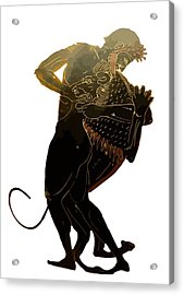 Hercules And The Nemean Lion Acrylic Print