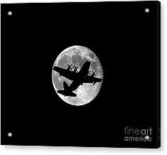 Hercules Moon .png Acrylic Print