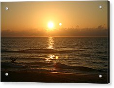 Here Comes The Sun. Acrylic Print by Dennis Curry