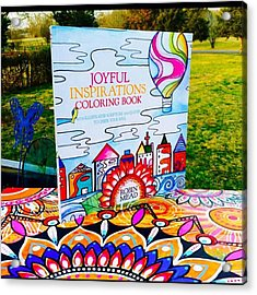 Here Is The Official #joyfulnspirations Acrylic Print