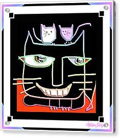 Here,  Kitty Kitty Acrylic Print
