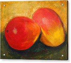 Here We Mango Again Acrylic Print