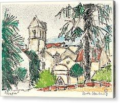 Herepian Village In Provence Acrylic Print