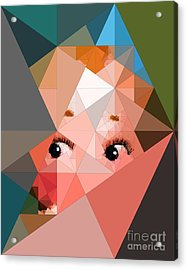 Here's Lookin At You Acrylic Print by Deborah Selib-Haig DMacq
