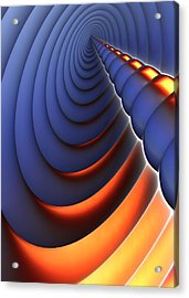 Heres The Point Acrylic Print by Lyle Hatch