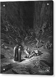 Heresiarchs Acrylic Print by Gustave Dore