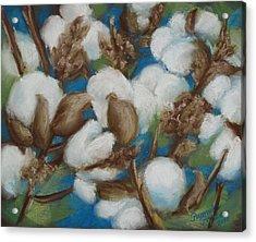 Heritage Corridor Cotton Acrylic Print