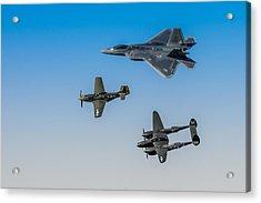 Heritage Flight Acrylic Print by Mark Goodman