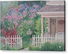 Heritage House Acrylic Print by Debbie Homewood