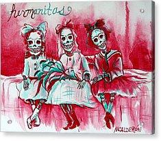 Hermanitas Acrylic Print
