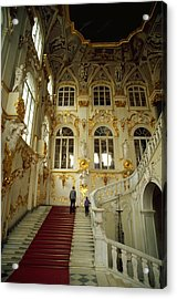 Hermitage Staircase Acrylic Print