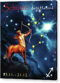 Hero Of The Stars Acrylic Print