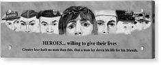 Heroes Acrylic Print