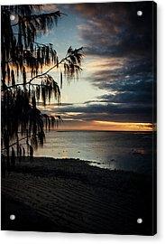 Heron Island Sunset  Acrylic Print