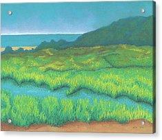 Heron's Home Acrylic Print
