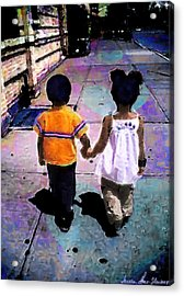 Heru And Olivia Acrylic Print