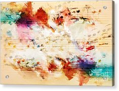 Heterophony And Inverted Harmony Acrylic Print