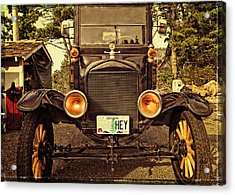 Hey A Model T Ford Truck Acrylic Print