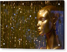Hey Gold Looking Acrylic Print by Jez C Self