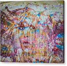 Acrylic Print featuring the digital art Hey Good Lookin by Eleni Mac Synodinos
