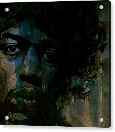 Hey Joe Retro Acrylic Print by Paul Lovering