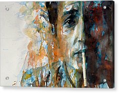 Hey Mr Tambourine Man @ Full Composition Acrylic Print by Paul Lovering