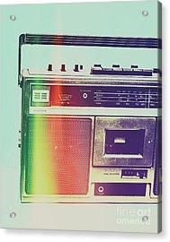 Hi-fi Pop Acrylic Print