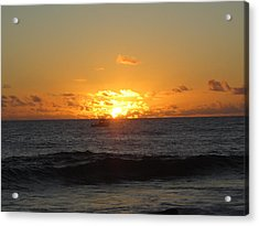 Hi Sunset-1 Acrylic Print by Ron Smith