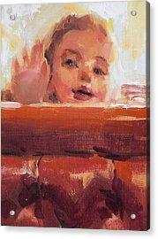 Hi There Acrylic Print by Merle Keller