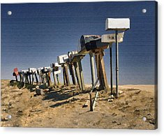 Hi-way 41 Mailboxes Acrylic Print