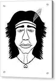 Hiawatha Acrylic Print