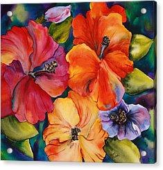 Hibiscus Mini Acrylic Print