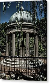 Acrylic Print featuring the photograph Hickory Sleeps by James L Bartlett