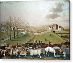 Hicks: Cornell Farm, 1848 Acrylic Print by Granger