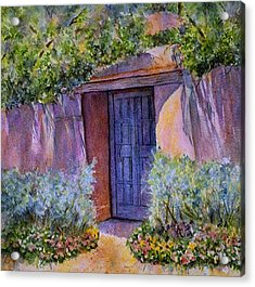 Acrylic Print featuring the painting Hidden Assets by Ann Peck