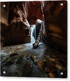 Hidden Canyon 2 Acrylic Print
