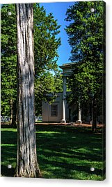 Acrylic Print featuring the photograph Hidden Columns - Color by James L Bartlett
