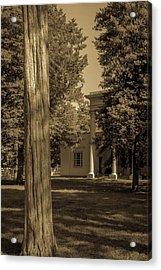 Acrylic Print featuring the photograph Hidden Columns  by James L Bartlett