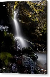 Hidden Falls Acrylic Print by Mike  Dawson